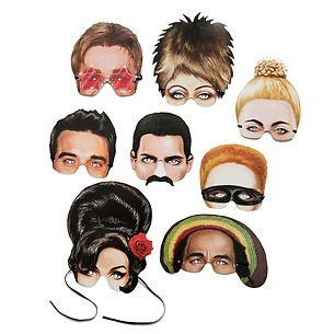 Karnevalsmasken 'Musical Icones'