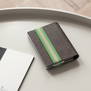 Q7 Wallet Classy Brown/Green
