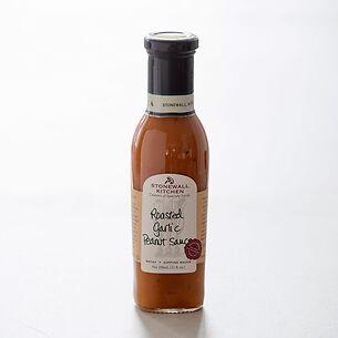 Stonewall Kitchen Roasted Garlic Peanut Sauce 330 ml