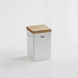 Tee-Vorratsdose mit Holzdeckel