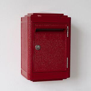 Briefkasten La Boîte Jaune Pétit Modèle 1945 Rot