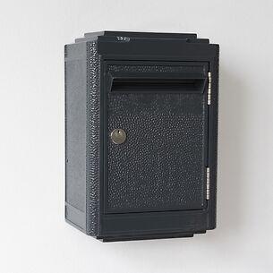 Briefkasten La Boîte Jaune Pétit Modèle 1945 Dunkelgrau