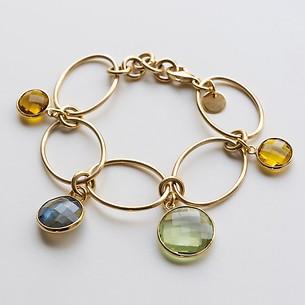 Marjana von Berlepsch Armband Venus Silber vergoldet