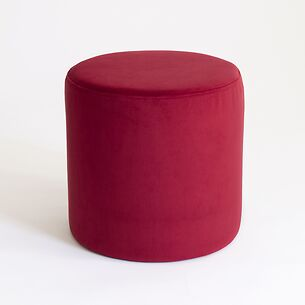 Pouf Anglet Rouge