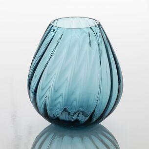 Große Vase Aqua light