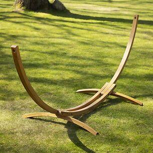 Hängemattengestell Lärchenholz