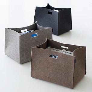 Filz-Zeitschriftentasche Tall Box