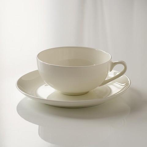 Torquato Fine Bone China Teetasse mit Untertasse