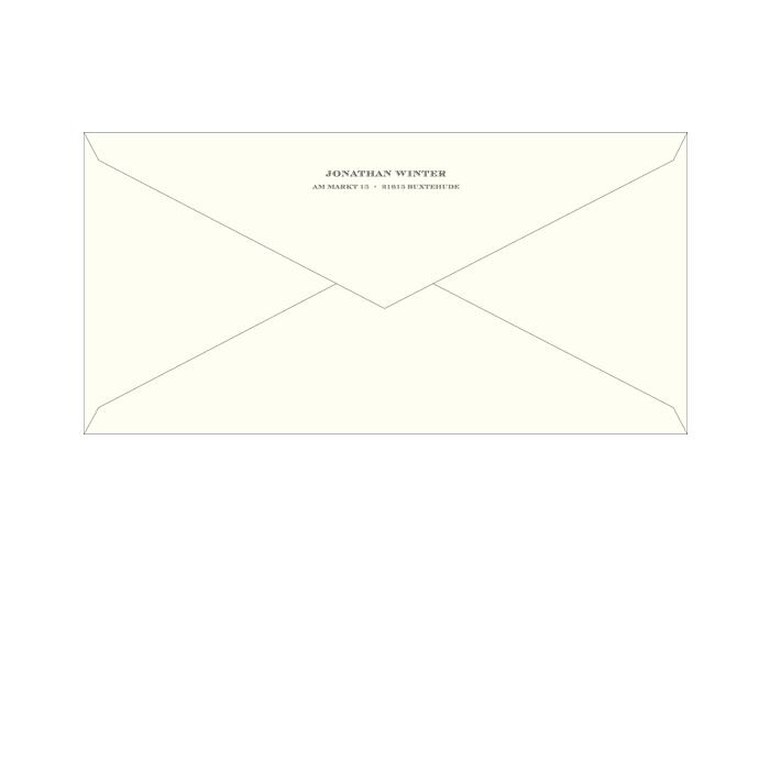 Briefumschläge DINlang
