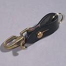Schlüsselanhänger Snap schwarz