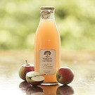 3 Flaschen Jus de Pomme: Naturtrüber Apfelsaft