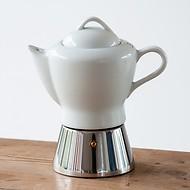 Espressokocher Porzellankanne