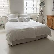 Torquato Bettbezug Perkal 135 x 200 cm Weiß