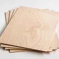 4 Platten Laubsägeholz A4