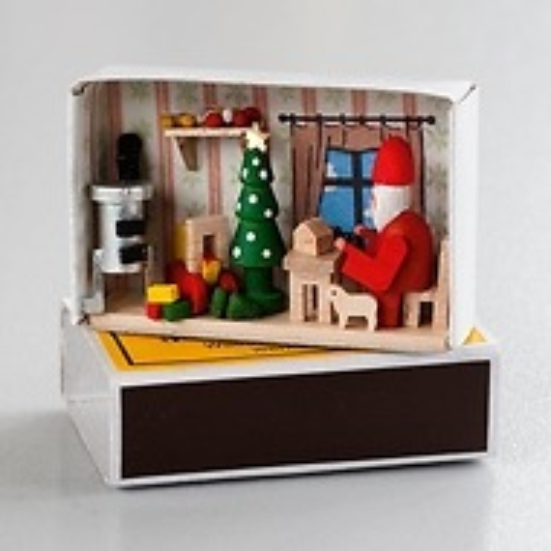Weihnachtswerkstatt in Zündholschachtel