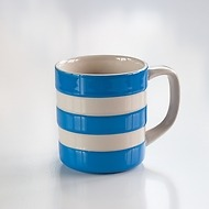 4 Becher Cornishware Blau