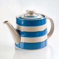 Teekanne Cornishware Blau