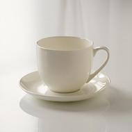 Torquato Fine Bone China Kaffetasse mit Untertasse