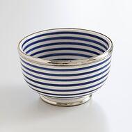 Keramikschale Kasba Dunkelblau-Creme