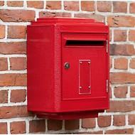 Briefkasten La Boîte Jaune Grand Modèle 1950 Rot