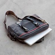 Croots Vintage Canvas Laptop Bag