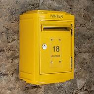 Briefkasten La Boîte Jaune