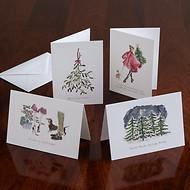 Weihnachtskarte von Langelütje