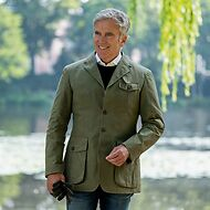 Risby & Leckonfield: Waxed Shooting Jacket
