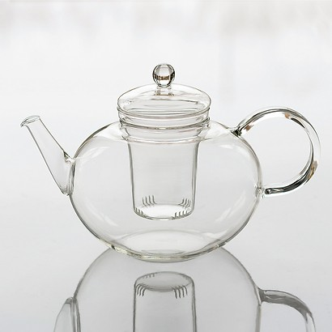 Teekanne Borosilikatglas