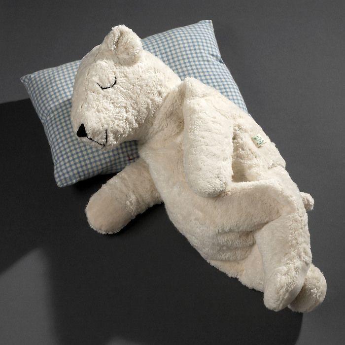 Senger Großer Eisbär mit Dinkelkissen