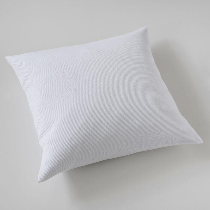 Kissenbezug Kränze 50 x 50 cm Weiß