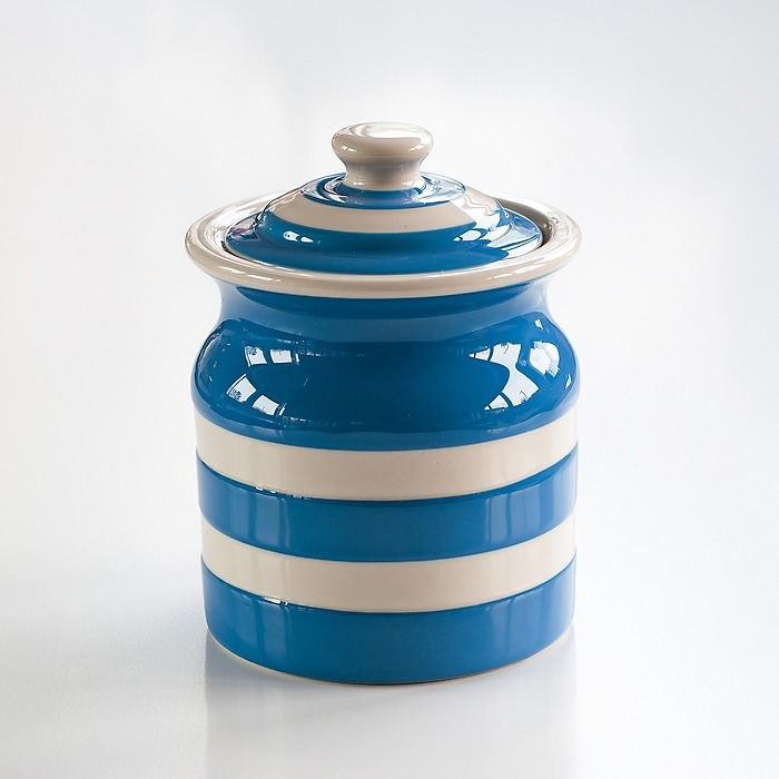 Vorratsgefäß 0,8 l Cornishware Blau