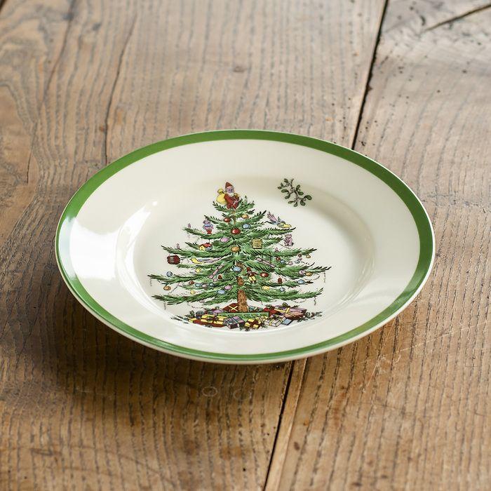 Spode Christmas Tree Mittlerer Teller 20 cm