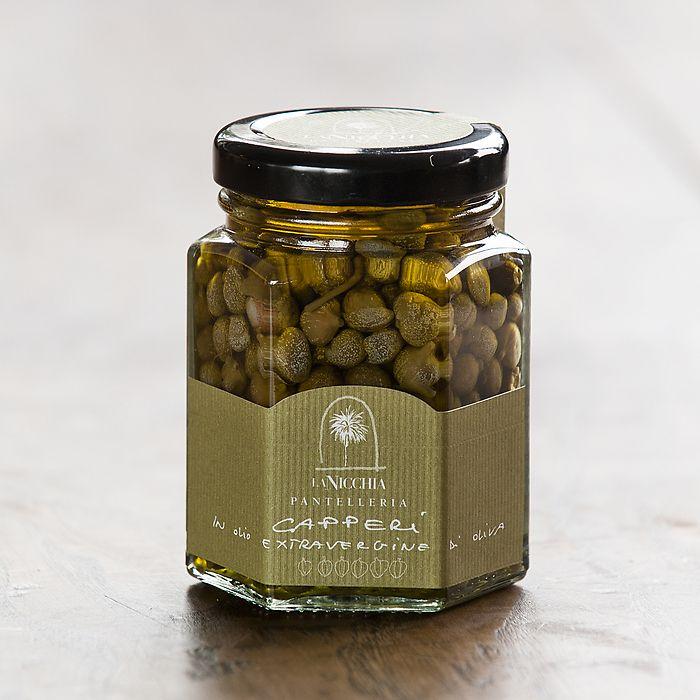 La Nicchia Kapern mittelgroß 100 g