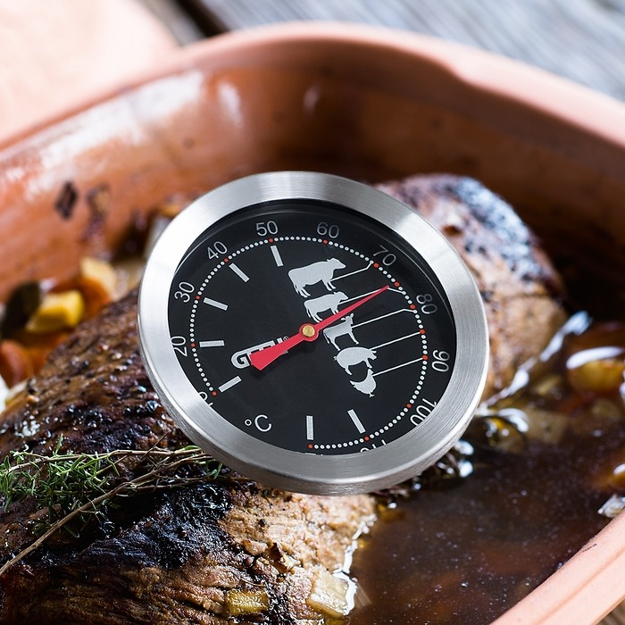 Analoges Bratenthermometer