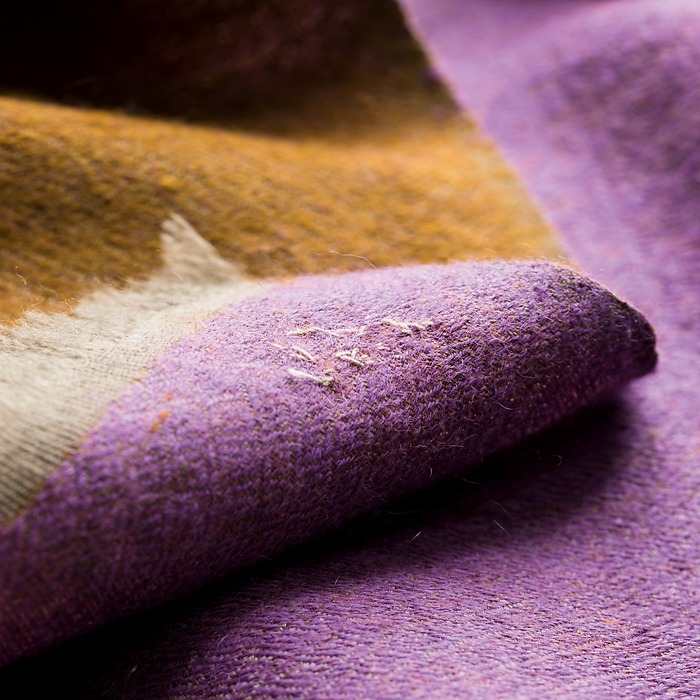 Kashmir Loom: Stola Autumn colors