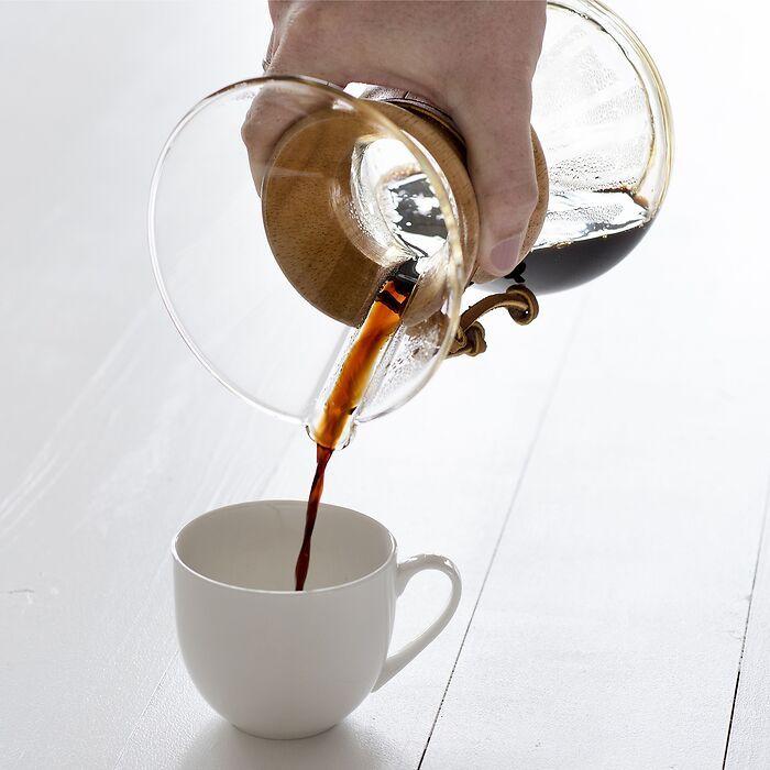 Chemex-Woodneck Kaffeekaraffe