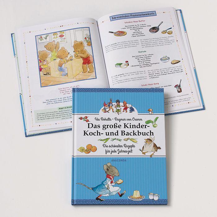 Das große Kinder Koch- und Backbuch