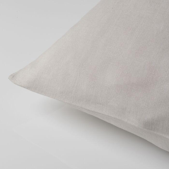 Kissenbezug Libeco Santiago 80 x 80 cm Light Grey