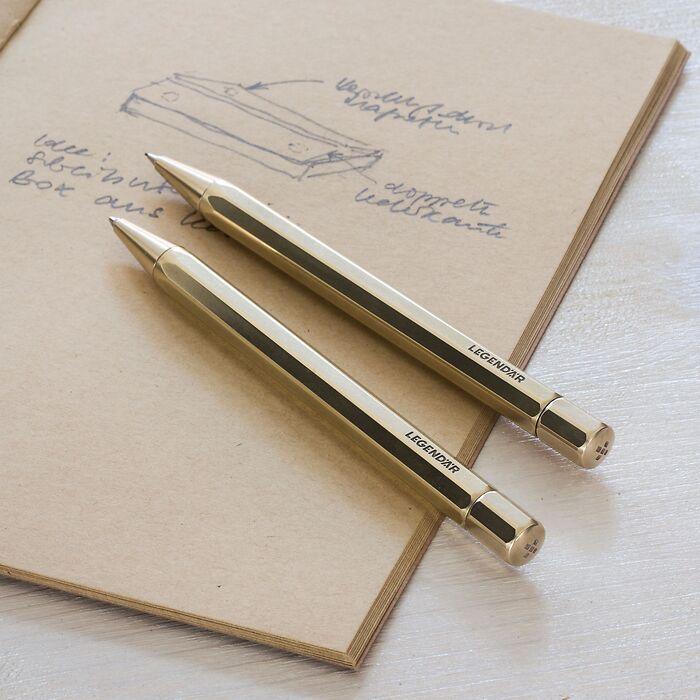 LGNDR Brass Pencil TWYST