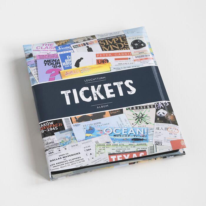 Leuchtturm Ticketalbum