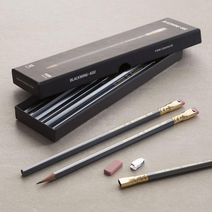 Ersatzradiergummi 'Blackwing 602' 10 Stück
