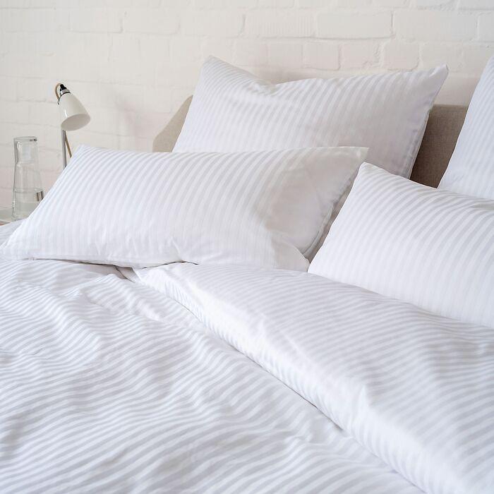 Bettbezug Baumwolldamast 200 x 200 cm