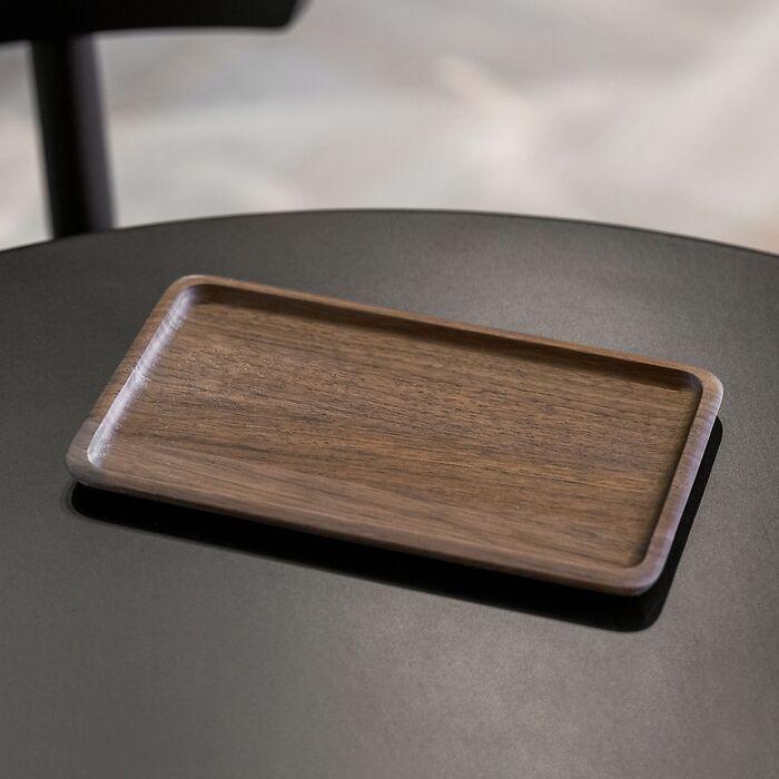 Kleines Tablett Walnussholz
