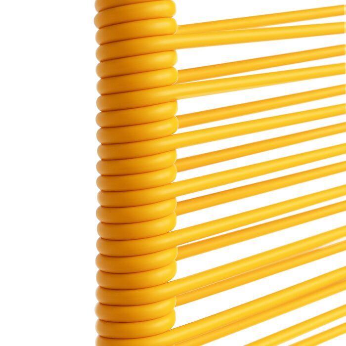 FIAM Spaghetti-Sessel gelb