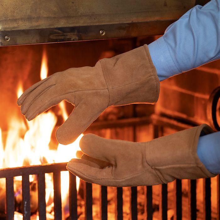 Kamin- und Ofenhandschuhe
