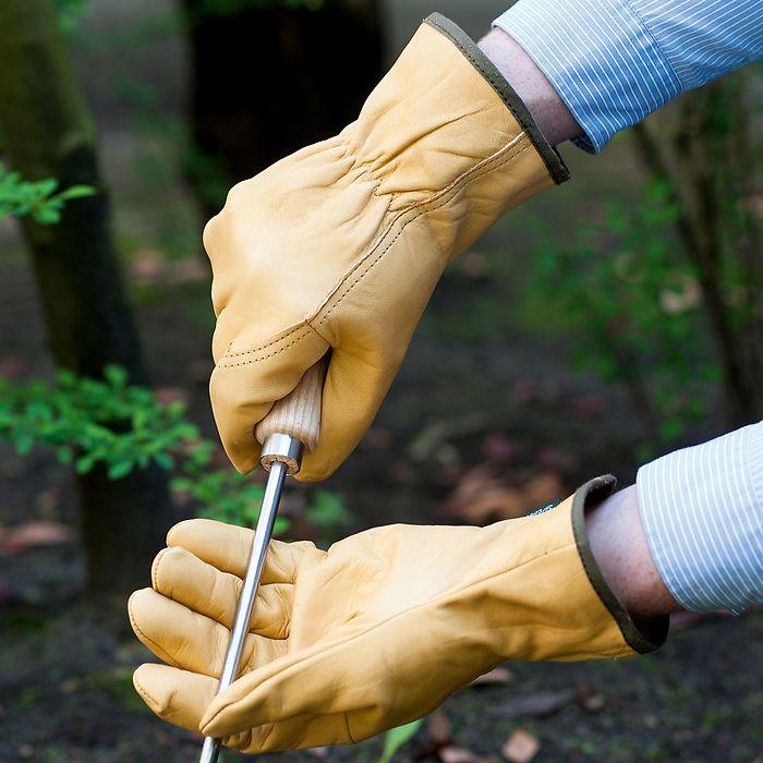 Leder-Gartenhandschuh