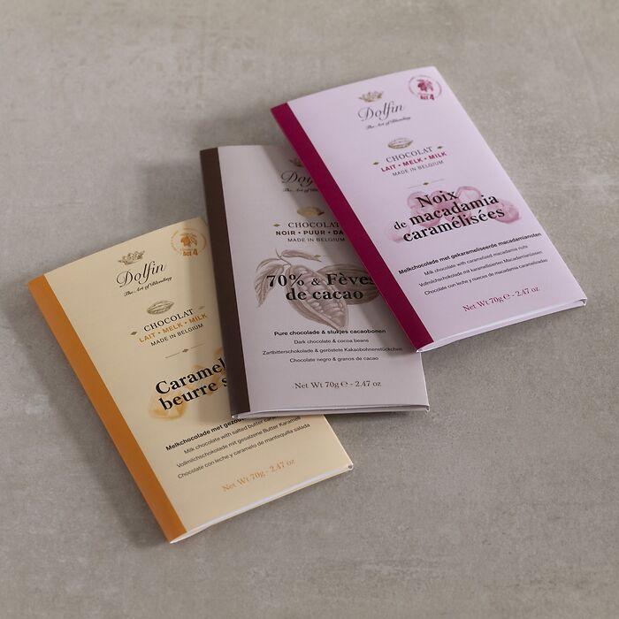 Dolfin Schokolade 70 g Tafel