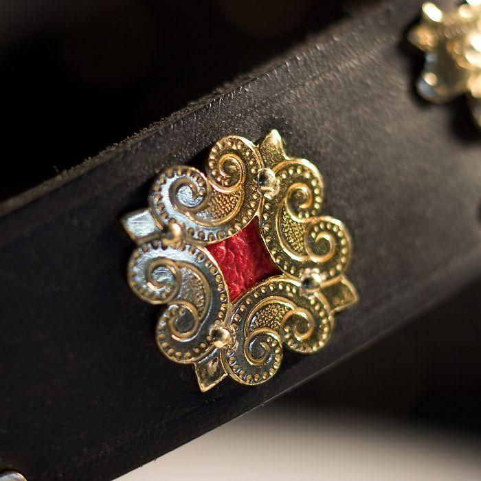 Appenzeller Halsband schwarz
