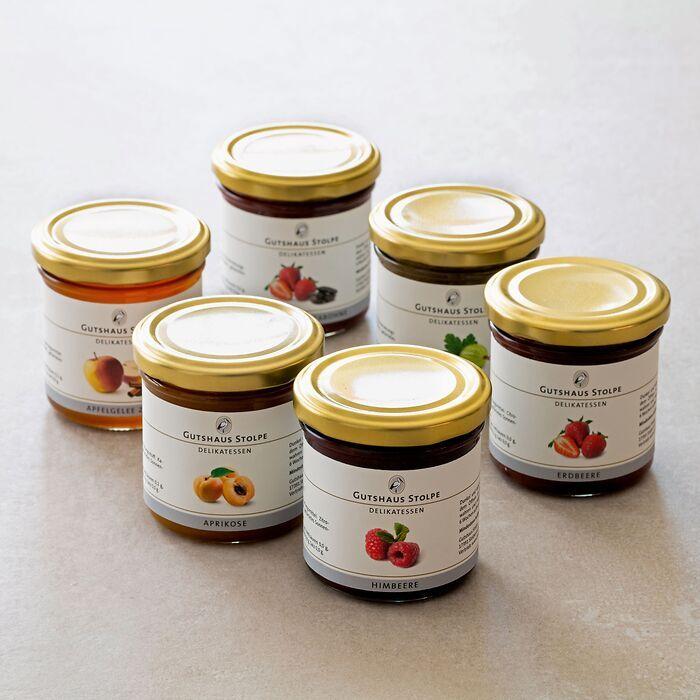 Gutshaus Stolpe: Fruchtaufstriche und Marmeladen